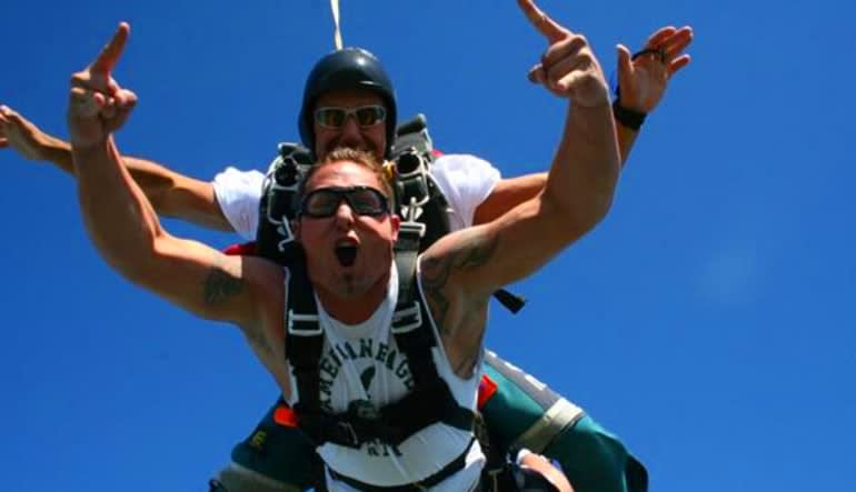 Skydive D.C., Weekday - 10,000ft Jump Man