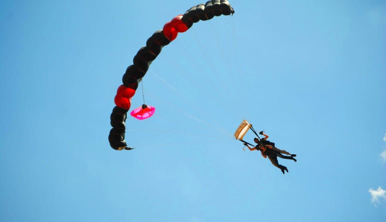 Skydive D.C., Weekday - 10,000ft Jump Parachute
