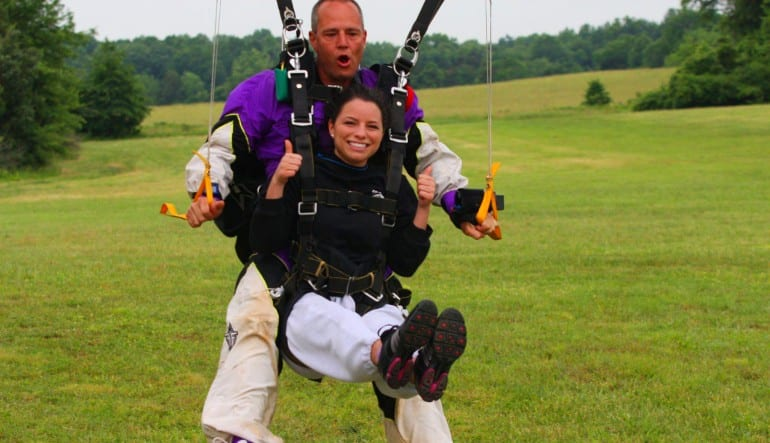 Skydive D.C., Weekday - 10,000ft Jump Landing