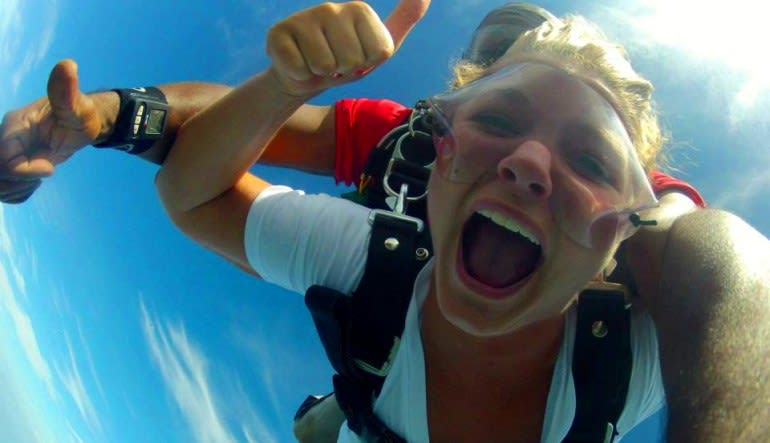 Skydive D.C., Weekend - 10,000ft Jump Head Shot