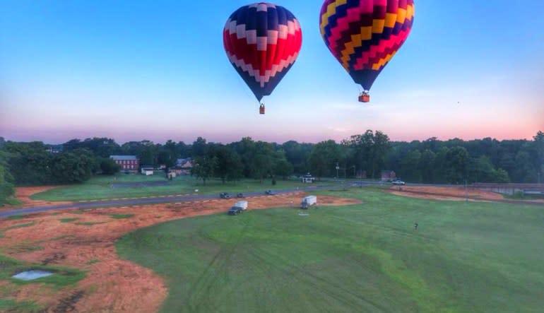 Hot Air Balloon Ride Baltimore - 1 Hour Flight Dawn