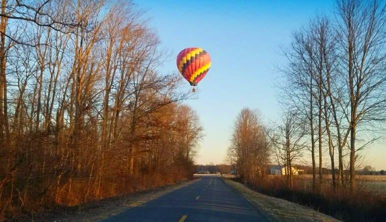 Hot Air Balloon Ride Baltimore - 1 Hour Flight