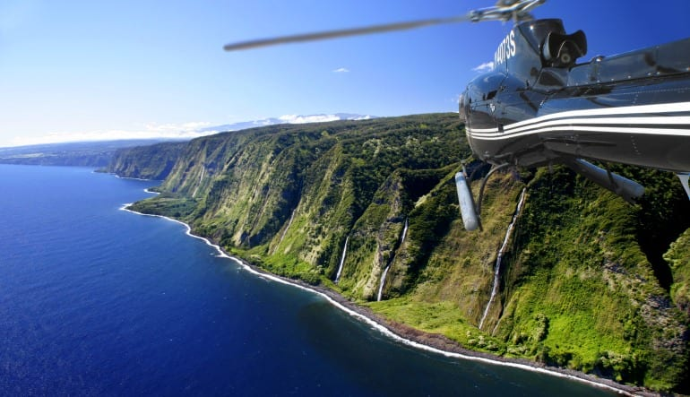 Helicopter Tour Big Island, Kilauea Volcano Deluxe Coastline