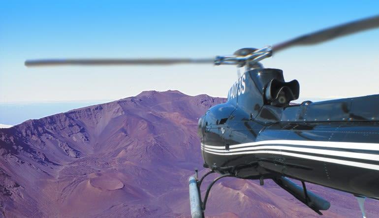 Helicopter Tour Maui, Hana and Haleakala Crater