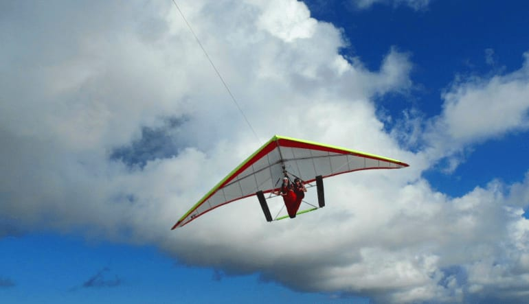 Hang Gliding Clewiston High Above
