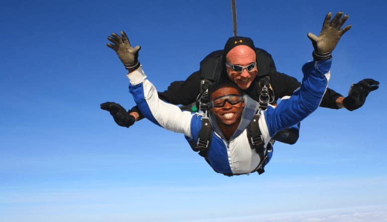Skydive North Detroit - 13,000ft Jump Man