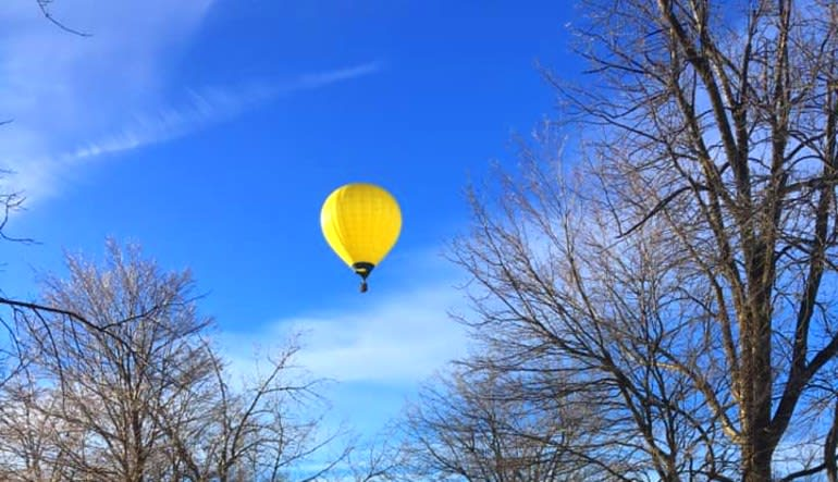 Hot Air Balloon Ride Indianapolis, Private Basket for 2 Fly