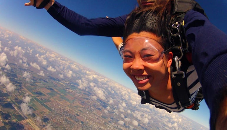 Skydiving Miami, Weekday - 10,000ft Jump Lady