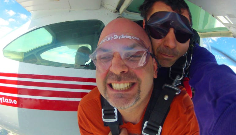 Skydiving Miami, Weekday - 10,000ft Jump Smile