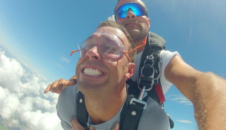 Skydiving Miami, Weekend - 10,000ft Jump Smile