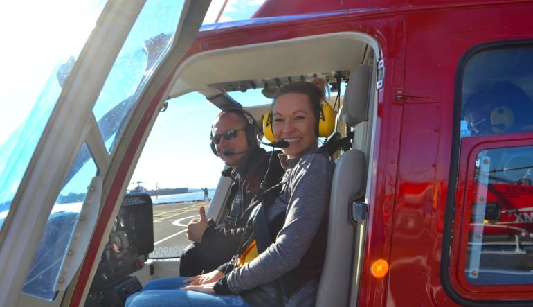 Helicopter Ride New York City - 15 Minutes Lady