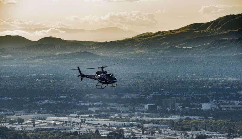 Helicopter Ride Los Angeles, Hollywood Sign and Downtown Tour Aircraft