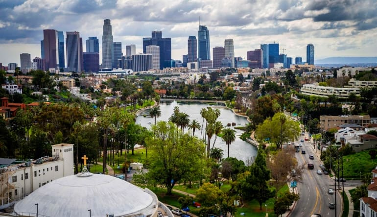 Private Helicopter Ride Los Angeles, Downtown Landing Tour City Views
