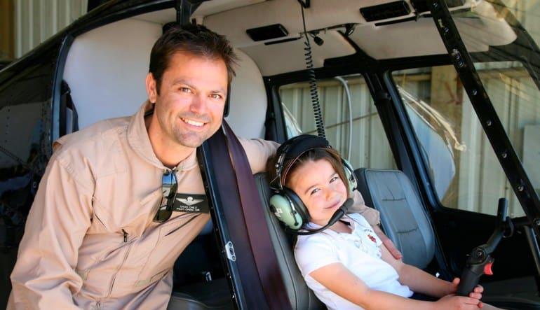 Private Helicopter Ride Los Angeles, Hollywood Sign and Downtown Tour Pilot