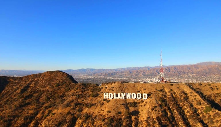 Private Helicopter Ride Los Angeles, Hollywood Sign and Downtown Tour Sign