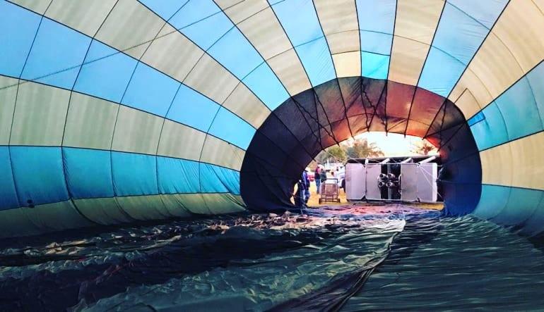 Hot Air Balloon Ride Orlando, Weekday Getting Ready