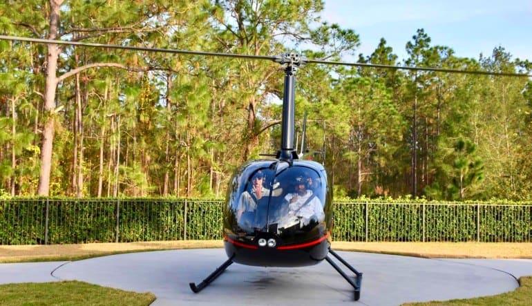 Helicopter Tour Orlando Aircraft