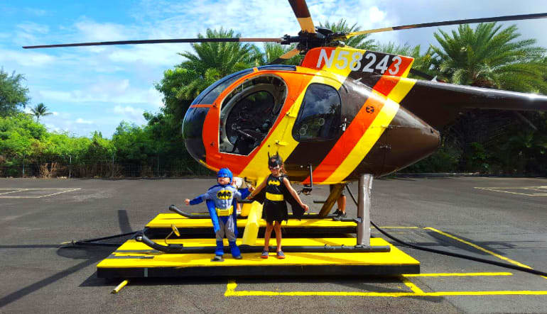 Helicopter Tour Oahu - Doors Off Magnum Experience Superheros