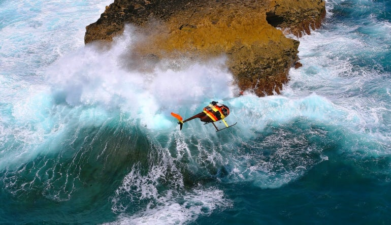 Helicopter Tour Oahu - Doors Off Magnum Experience Cliffs