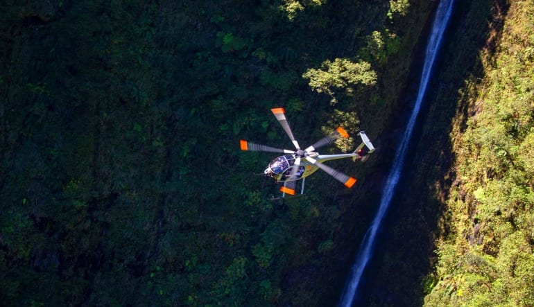Helicopter Tour Big Island, Volcano by Air and Land