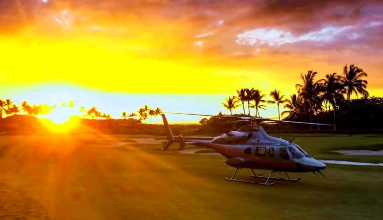 Helicopter Tour Big Island, Kona Sunset Experience - 2 Hours Setting