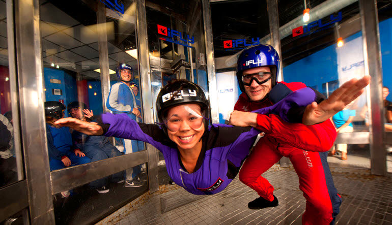 Indoor Skydiving Dallas