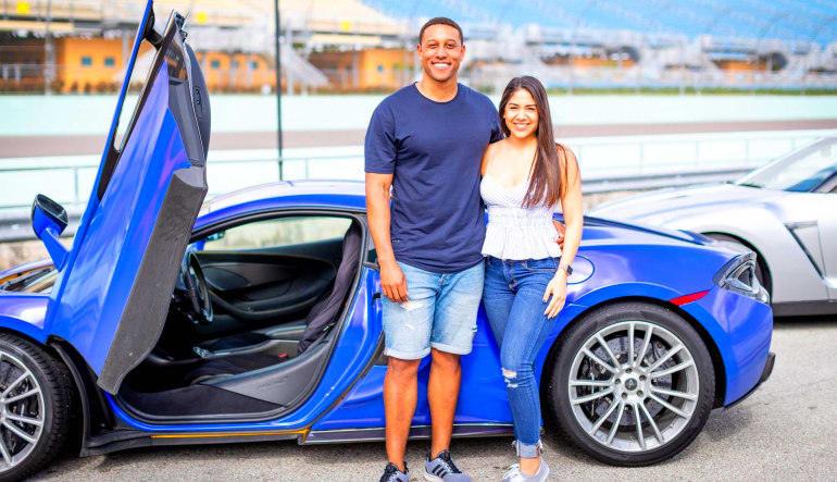 Lamborghini Aventador Drive - Las Vegas Motor Speedway Couple