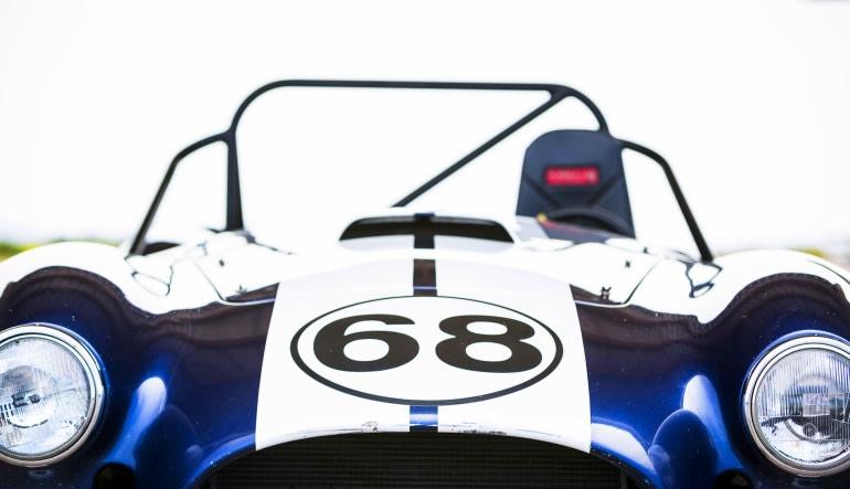 Cobra Repliracer 5 Lap Drive - Houston Grandsport Speedway Close Up