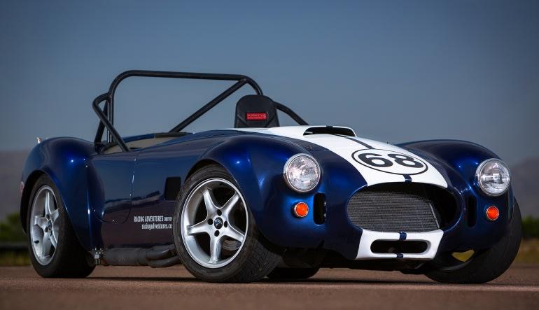 Cobra Repliracer 5 Lap Drive - Houston Grandsport Speedway Experience