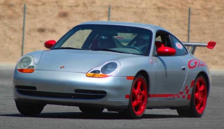 Porsche 911 Carrera 6 Lap Drive Silver