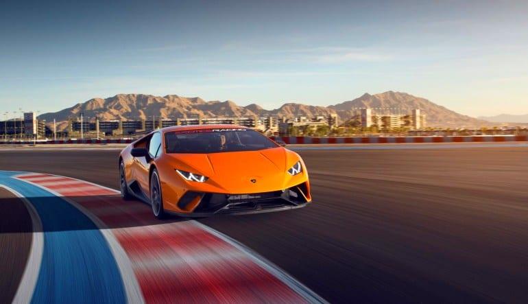Lamborghini Huracan LP610 Drive