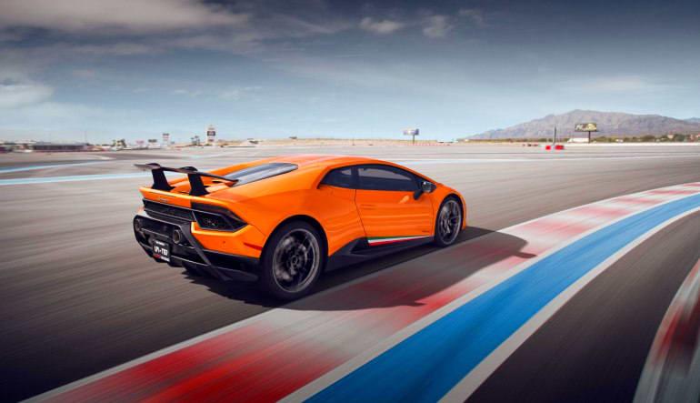Lamborghini Huracan LP610 Drive Action