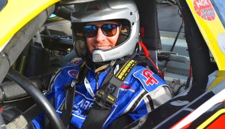 NASCAR Ride Texas Motor Speedway Man