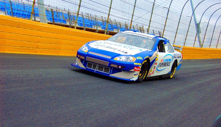 NASCAR Ride, 3 Laps Speed