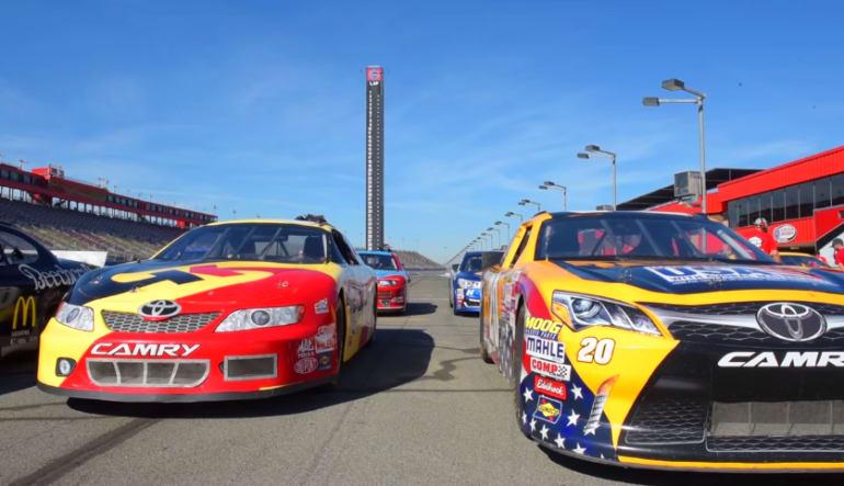 NASCAR Ride, 3 Laps - Las Vegas Motor Speedway Start Line