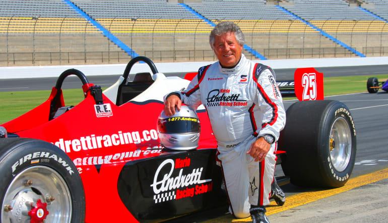 INDY-STYLE CAR Drive Legend Mario Andretti
