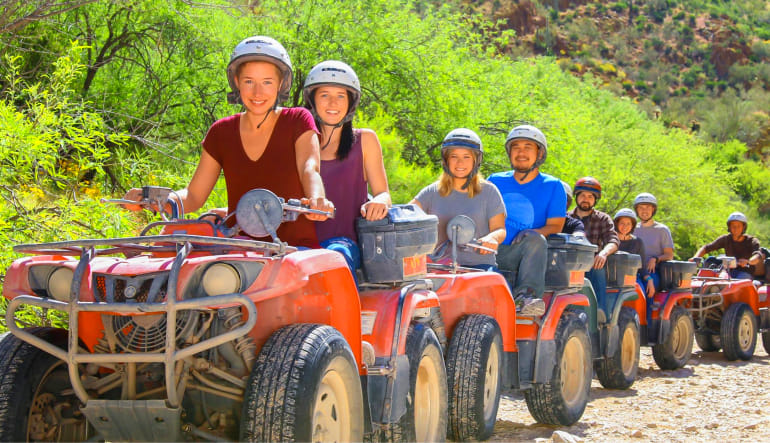 ATV Sedona Canyon Guided Tour Group