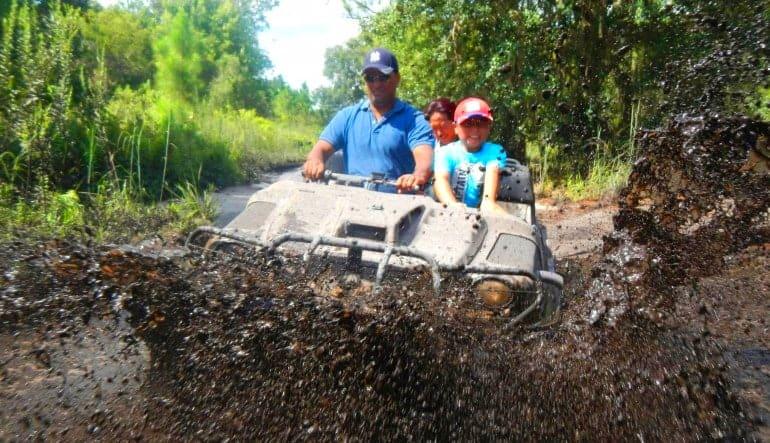 Argo ATV Drive Orlando Splash