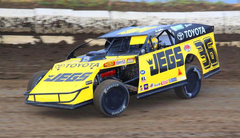 Dirt Track Racing Yellow & Black