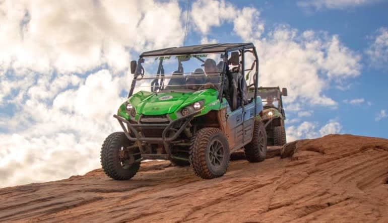 T-Rex Offroad Tour Moab Green Buggy