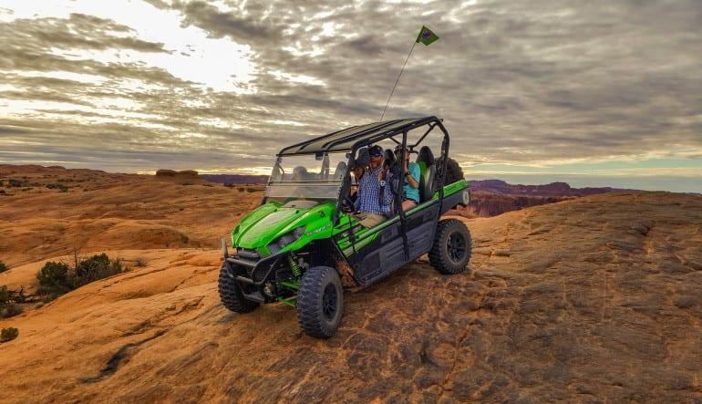 T-Rex Offroad Tour Moab Landscape