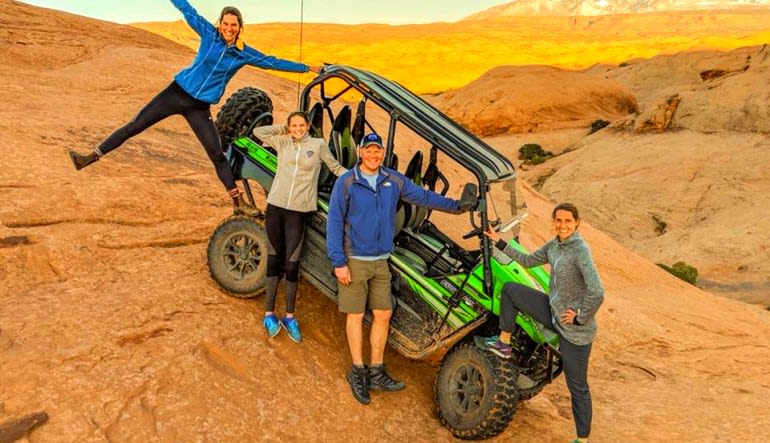 T-Rex Offroad Tour Moab Family