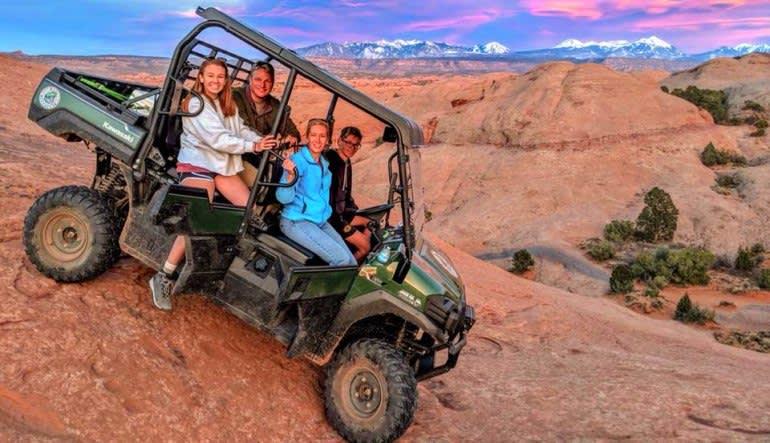 T-Rex Offroad Tour Moab Couple
