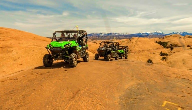 T-Rex Offroad Tour Moab Trail