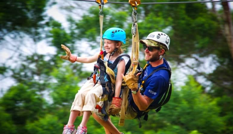 Northshore Zipline Child