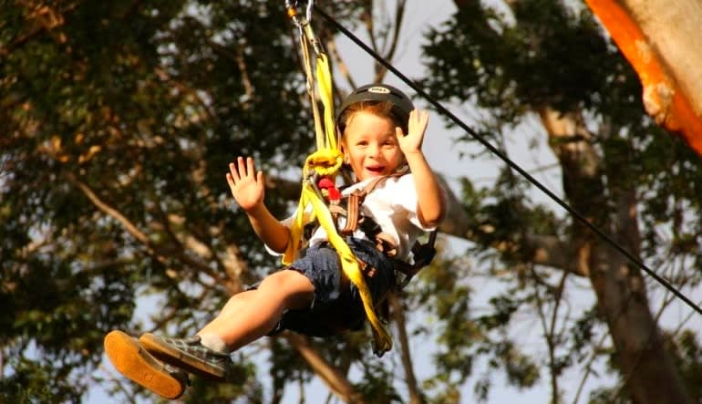 Northshore Zipline Youngster