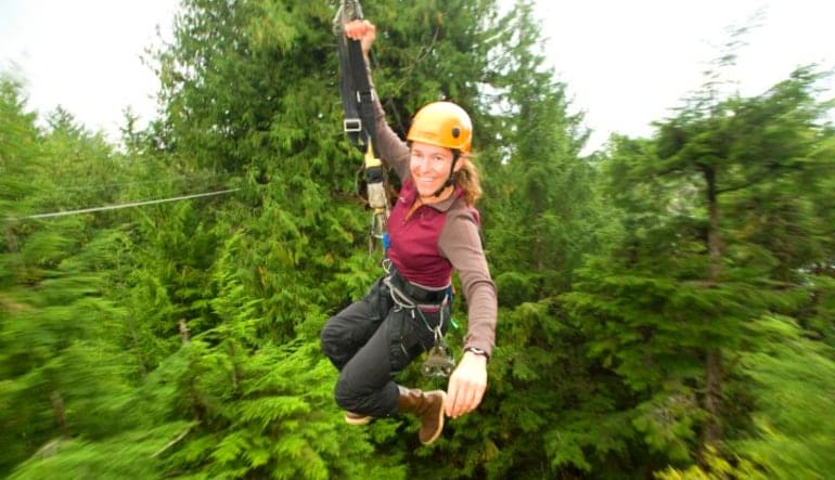 Ketchikan Zipline Adventures, Tongass National Forest Lady