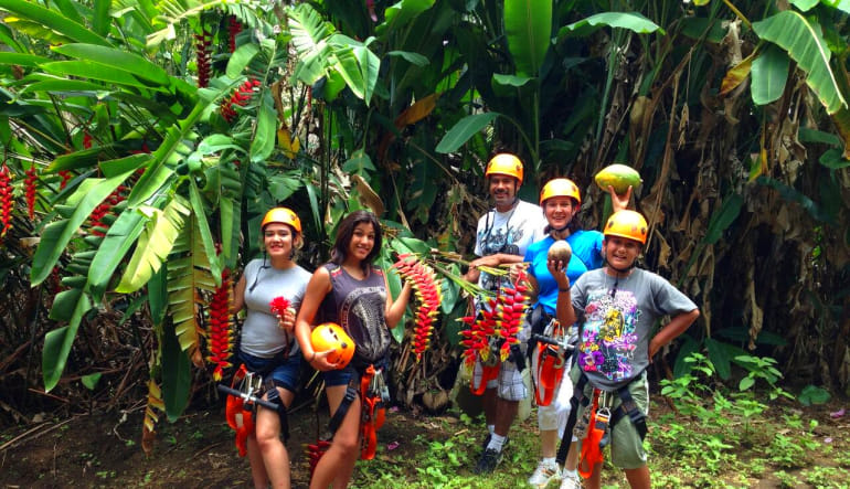 Zipline Maui, 7 Lines In the Jungle