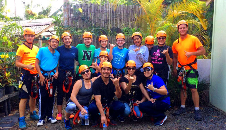 Zipline Maui, 7 Lines Group Photo