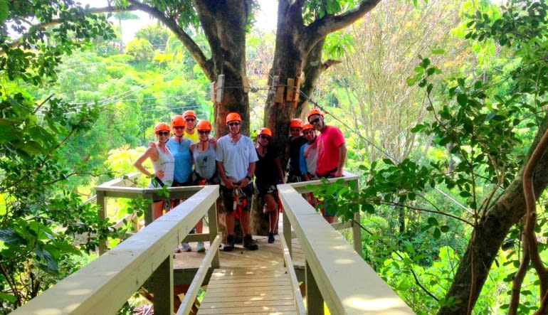 Zipline Maui, 7 Lines In the Trees